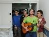 Serenading in the children\'s ward